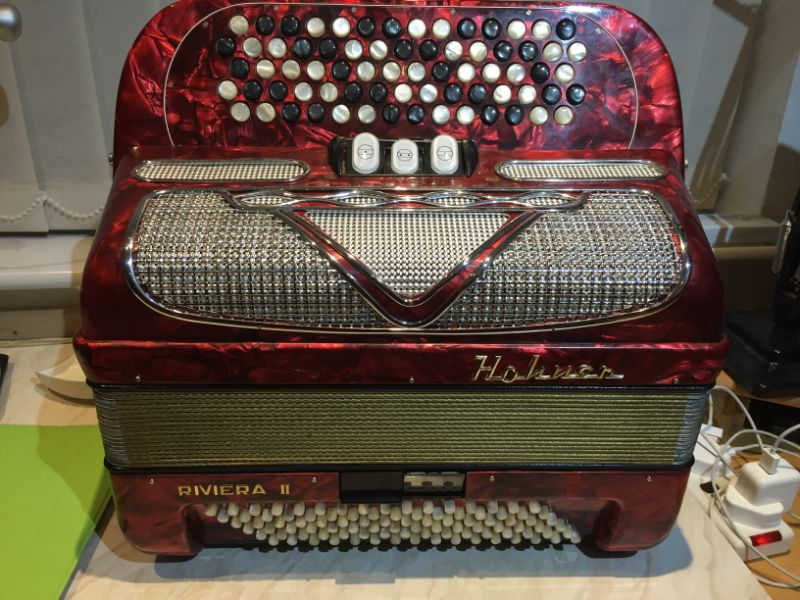 Hohner Riviera Chromatic Button Accordion