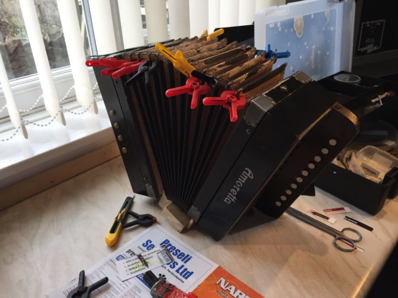 one row melodeon