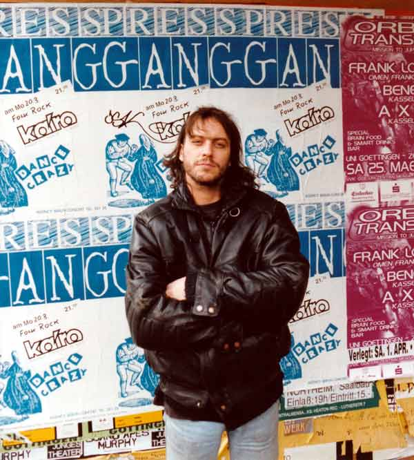George Whitfield with Pressgang posters