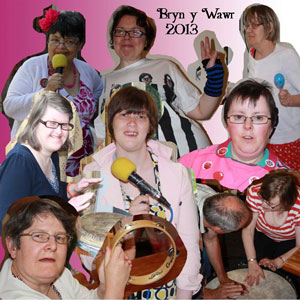 "CD cover ""2013"" by Bryn y Wawr"