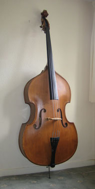 My double bass was in three pieces when I bought it for £30 in the 80's
