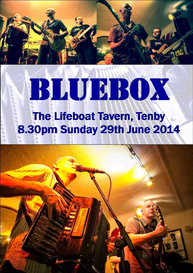 Bluebox Lifeboat Poster