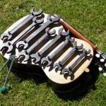 Spanner metallophone