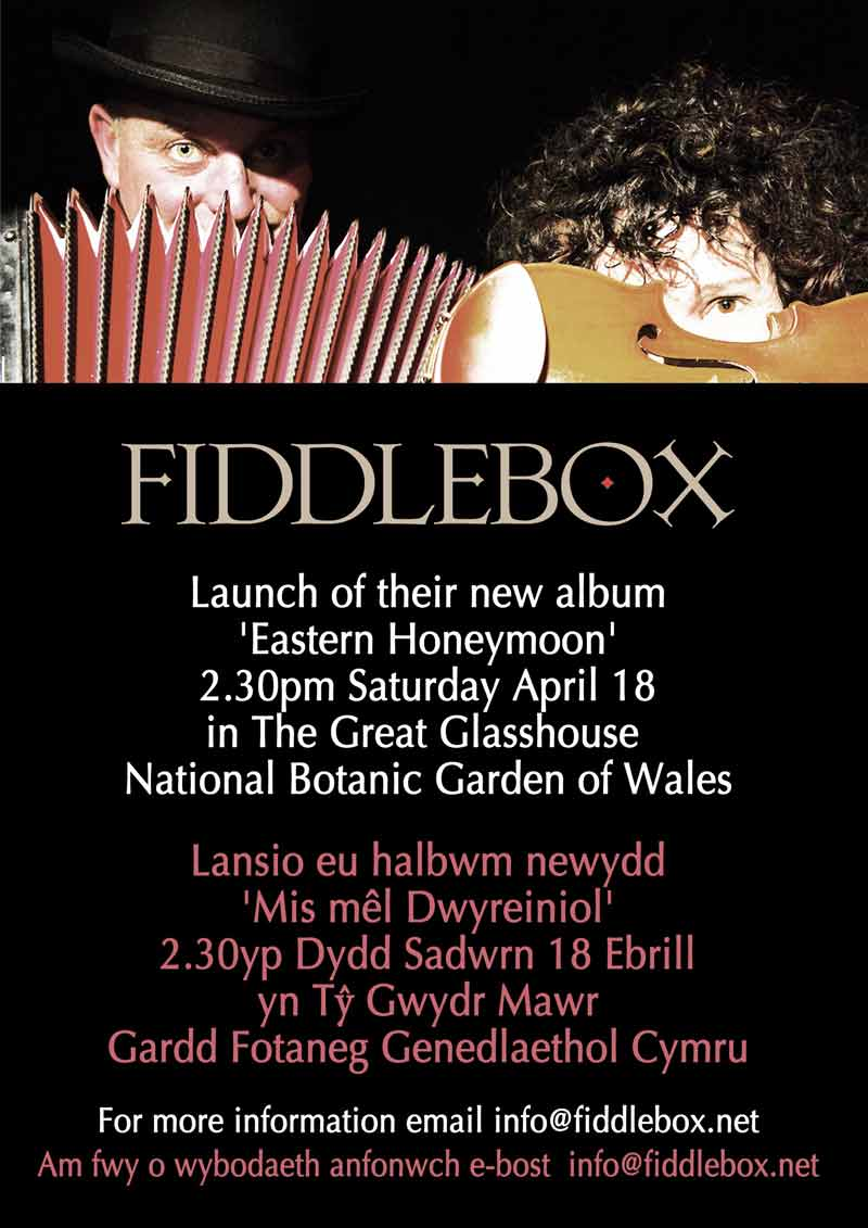 Fiddlebox CD Launch Poster