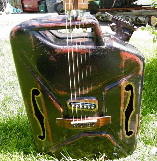 Just any old pickup - sounds great!