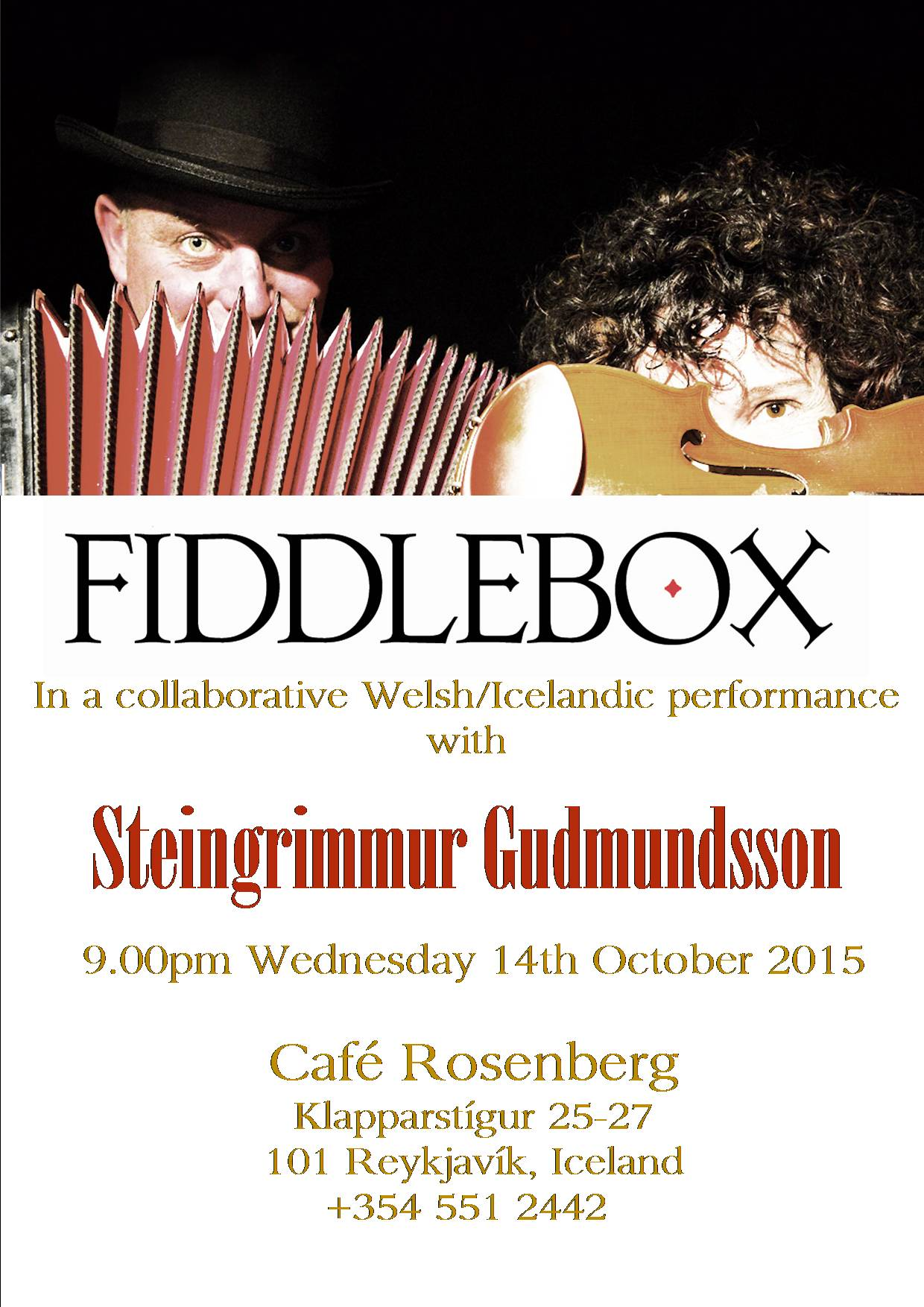 Fiddlebox at Cafe Rosenberg