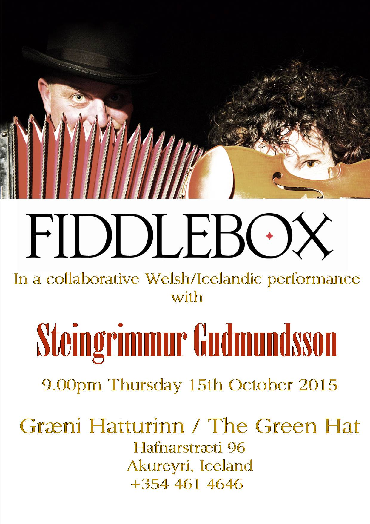 Fiddlebox at Green Hat
