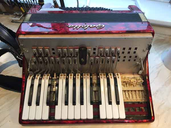 Accordion Keyboard Repair