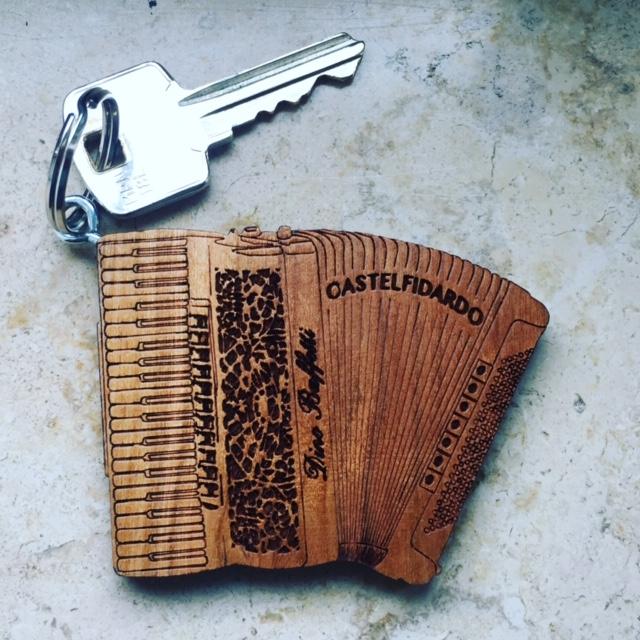Hotel Parco Room Key