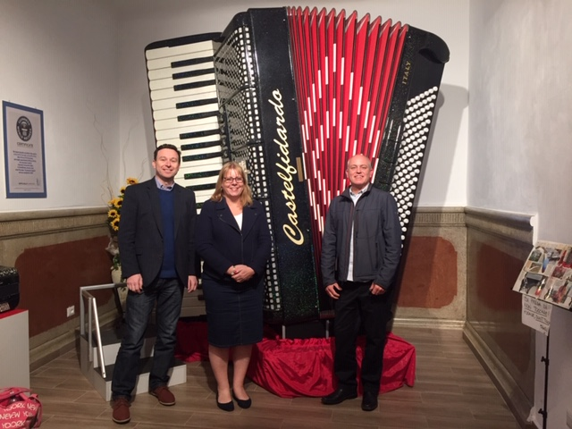 Worlds Largest Playable Accordion