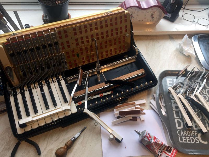 Metal Atlantic Keyboard
