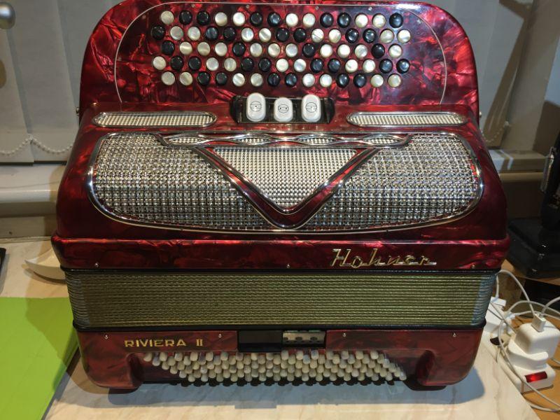 Hohner Riviera Chromatic Button Accordion