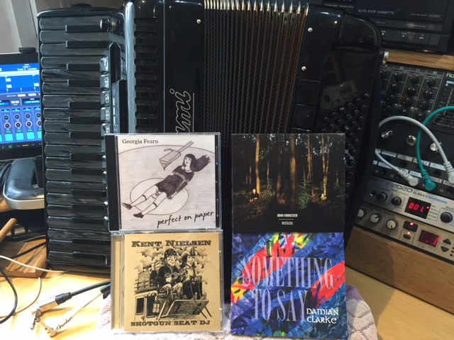 CDs by Georgia Fearn, John Forrester, KentNielsen and Damian Clarke